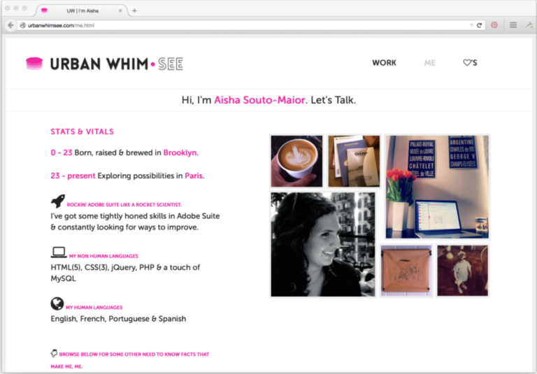 Πώς να φτιάξεις ένα εντυπωσιακό site/portfolio 4